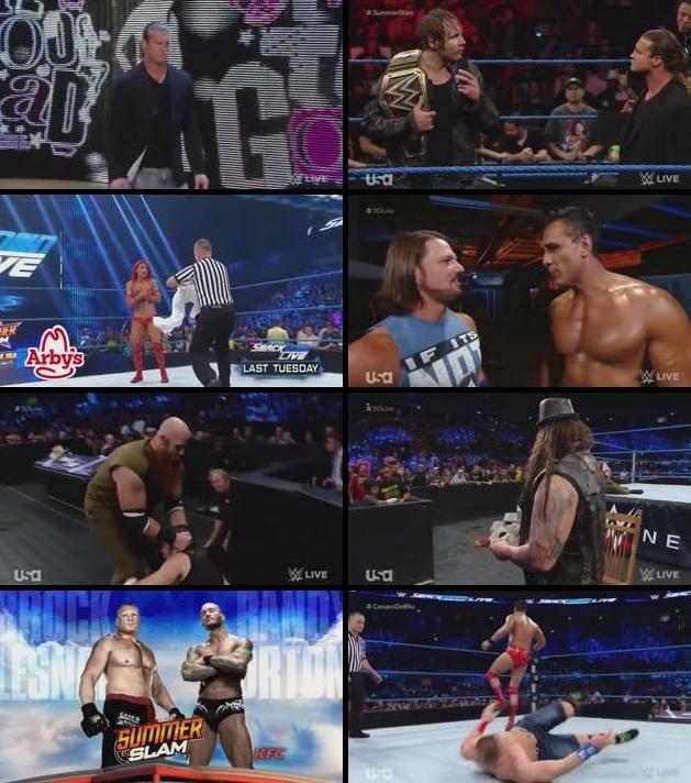 WWE Smackdown Live 16 August 2016 HDTV 480p