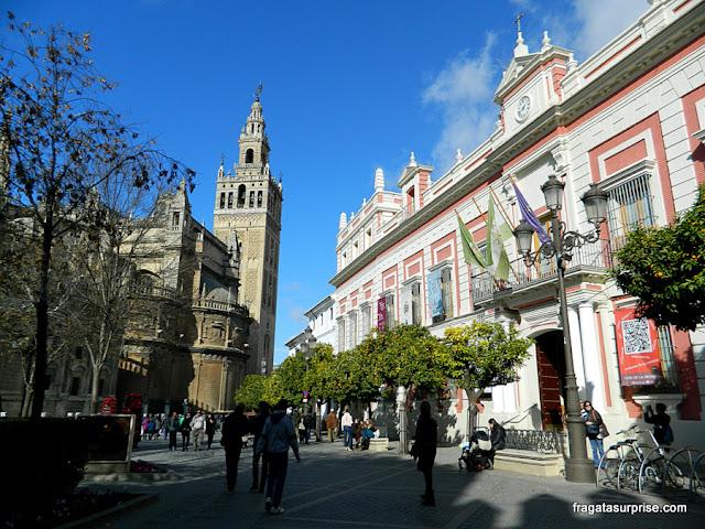 Torre da Giralda, Catedral de Sevilha