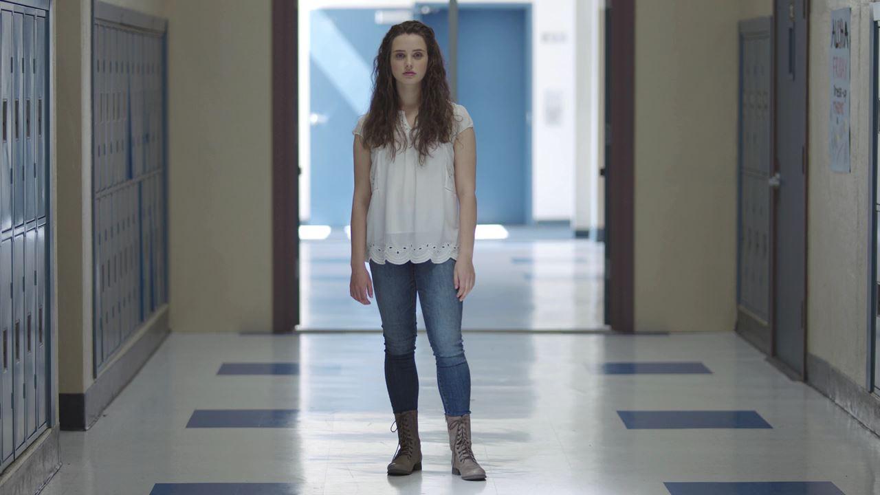 Katherine Langford en una escena de la serie de Netflix '13 reasons why'