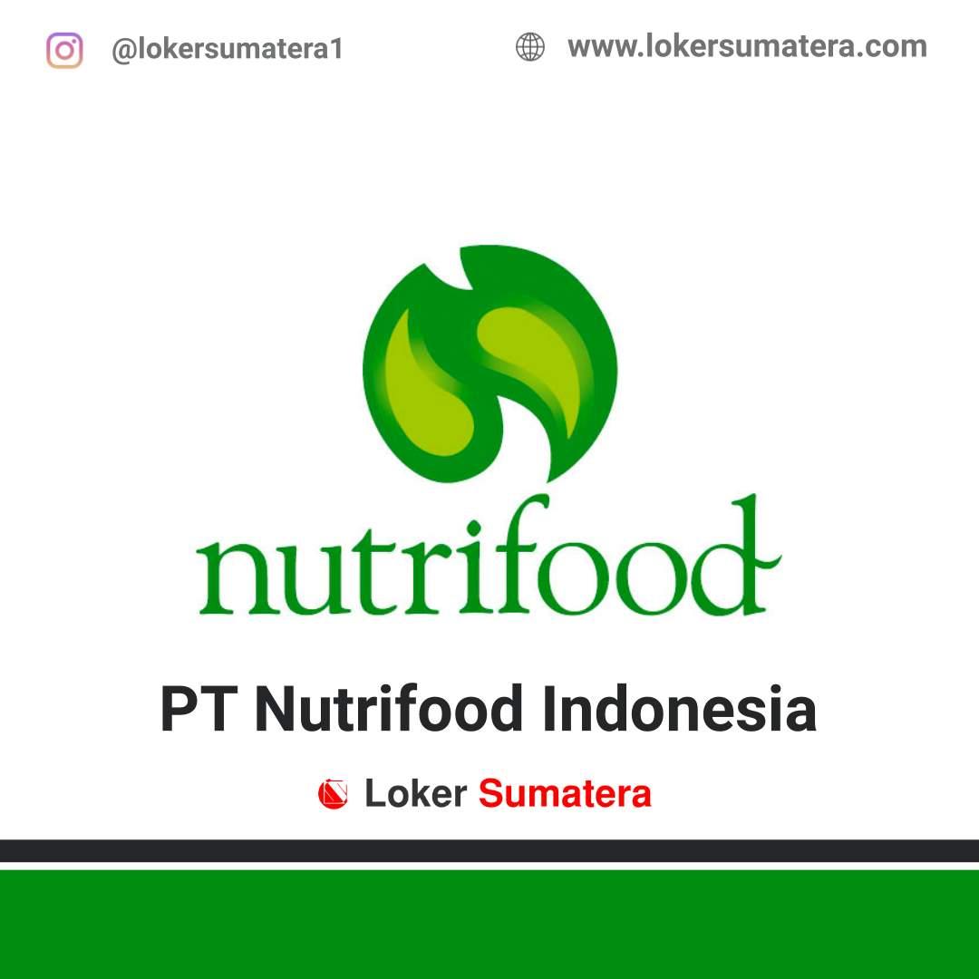 Lowongan Kerja Pekanbaru: PT Nutrifood Indonesia Juni 2020