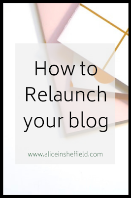 How to relaunch your blog