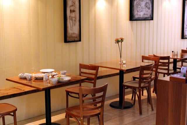 Sala de desayuno del Selfoss Hostel