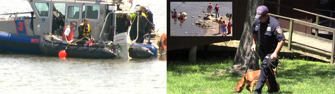 Intensa búsqueda del cadáver de un  dominicano ahogado en el río Hudson