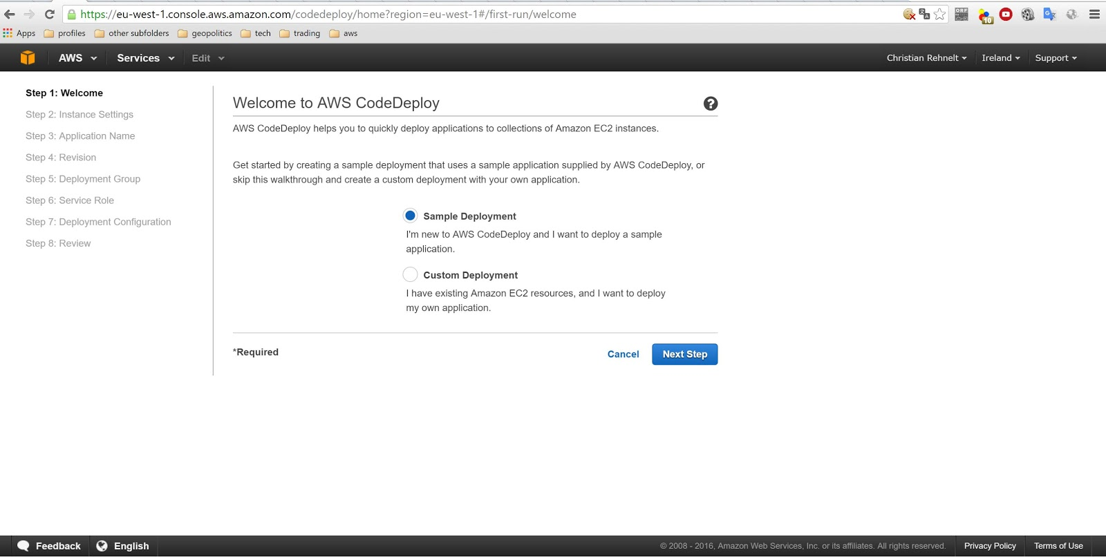 blog area23 at: aws CodeDeploy CodePipeline - 2 Amazon's
