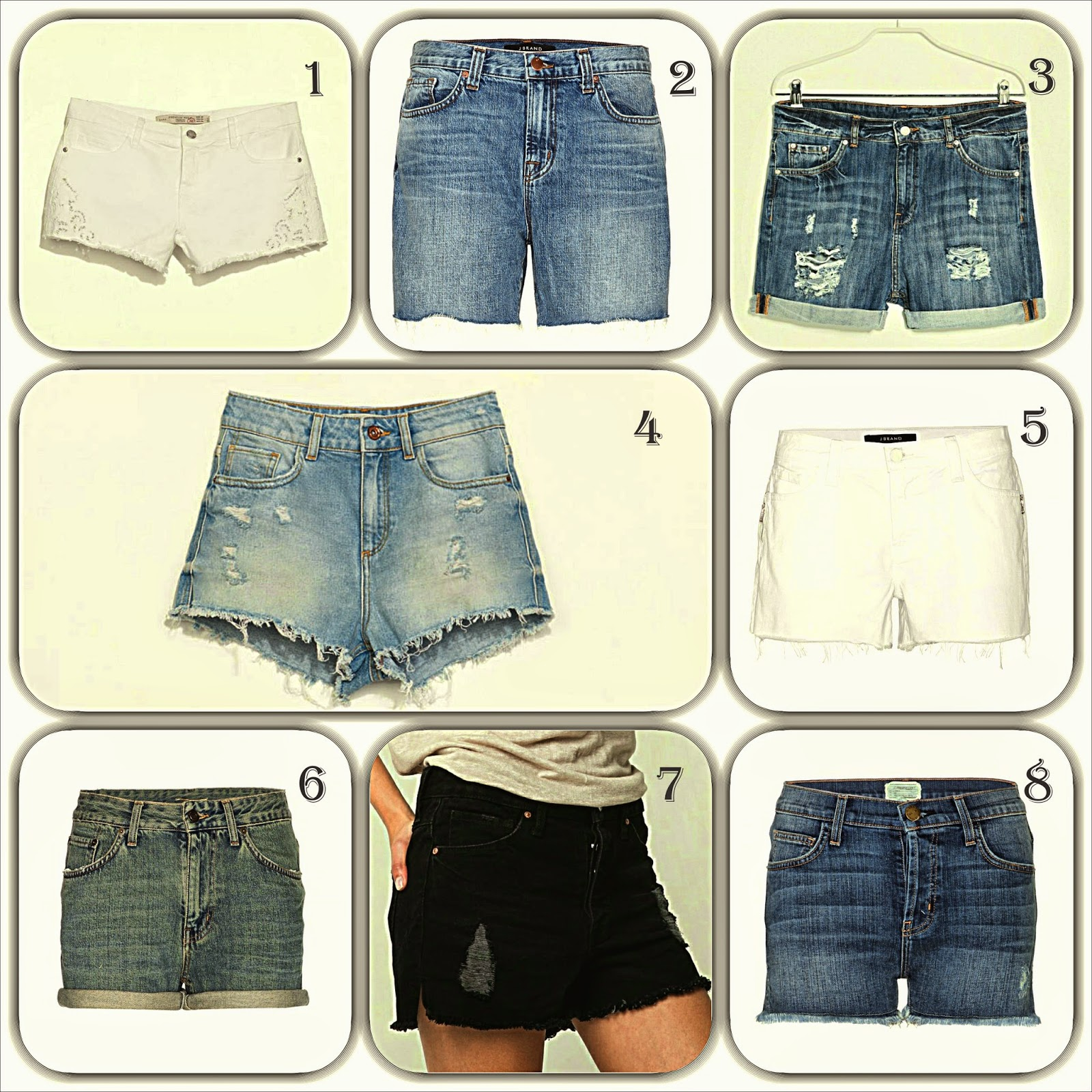 Denim Shorts Selection