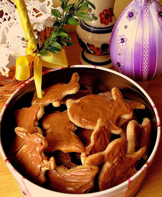 Cynamonowe ciasteczka w czekoladzie