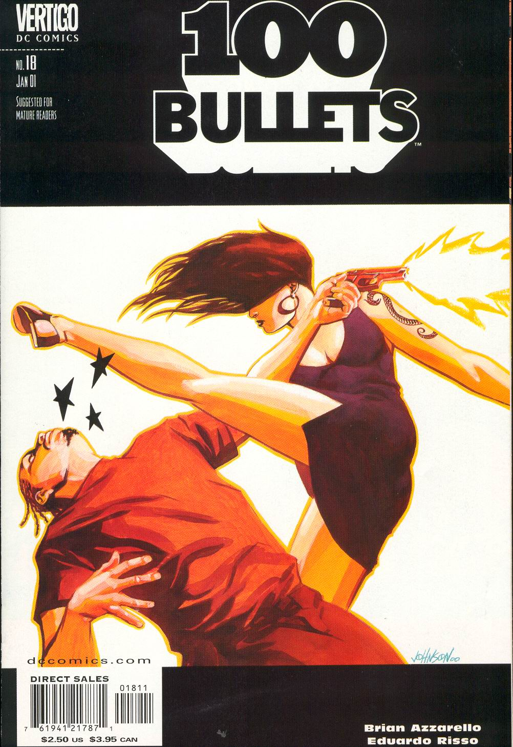 Read online 100 Bullets comic -  Issue #18 - 2