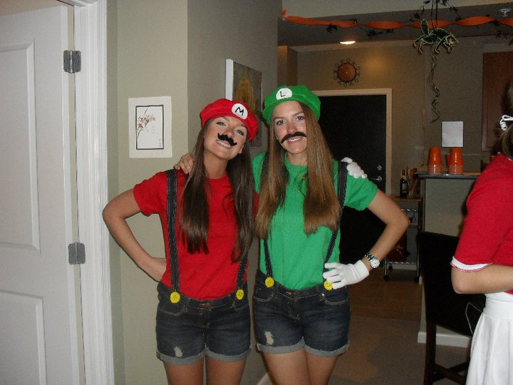 Currently Coveting October 2011. SaveEnlarge · Simple Mario And Luigi Couple Costume  sc 1 st  Meningrey & Mario And Luigi Girl Costumes - Meningrey