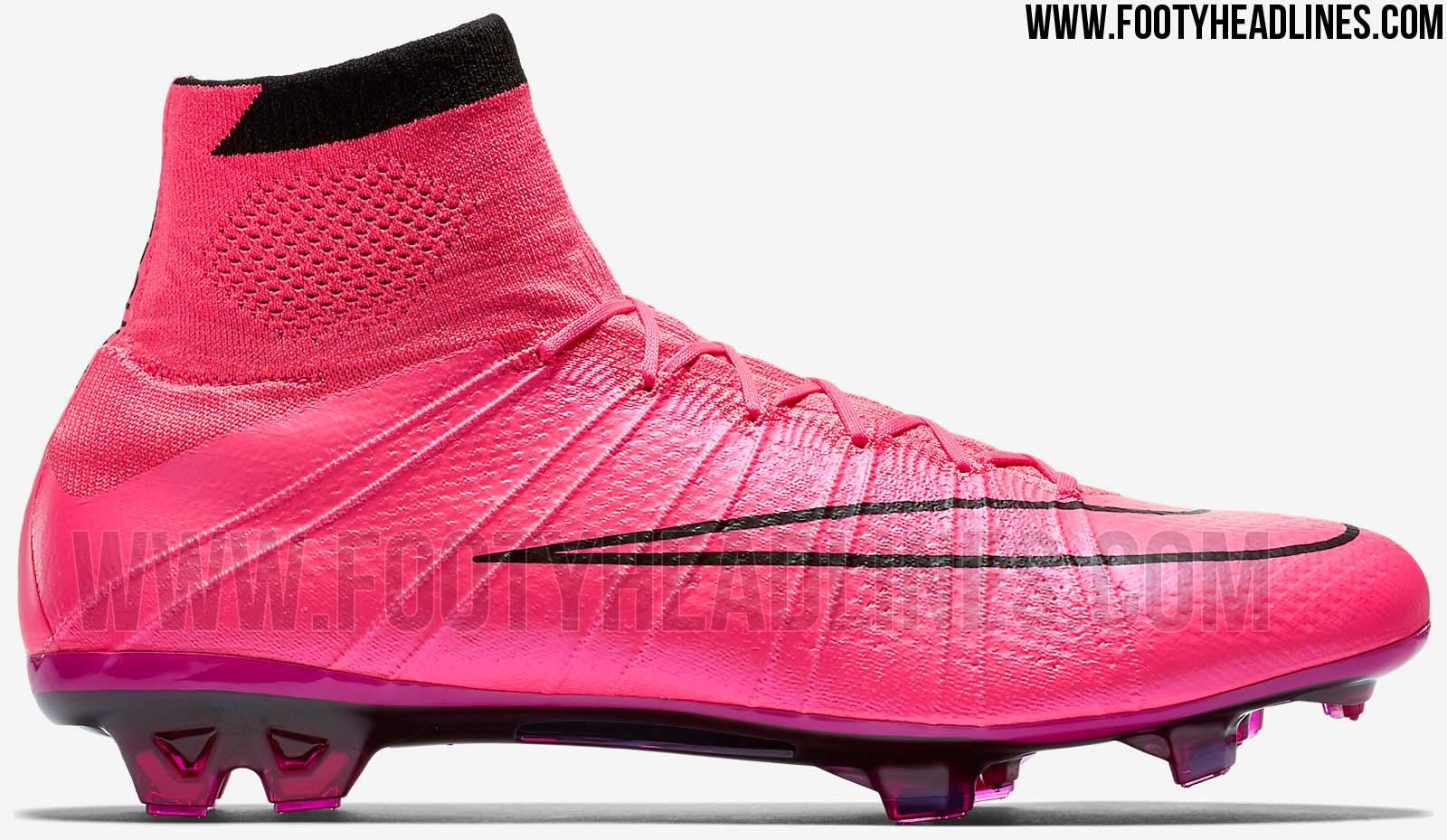 Pinke Nike Mercurial Superfly 2015 2016 Fußballschuhe