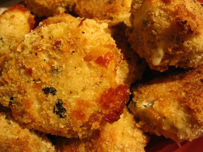 Baked Italian Brown Rice Balls (Arancini)
