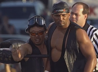 WCW Road Wild 1999 - Ernest 'The Cat' Miller and Sonny Onoo