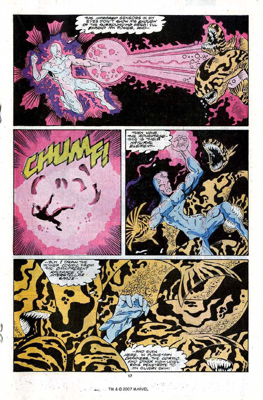Read online Silver Surfer (1987) comic -  Issue #22 - 19