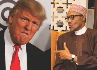 president buhari calls donald trump