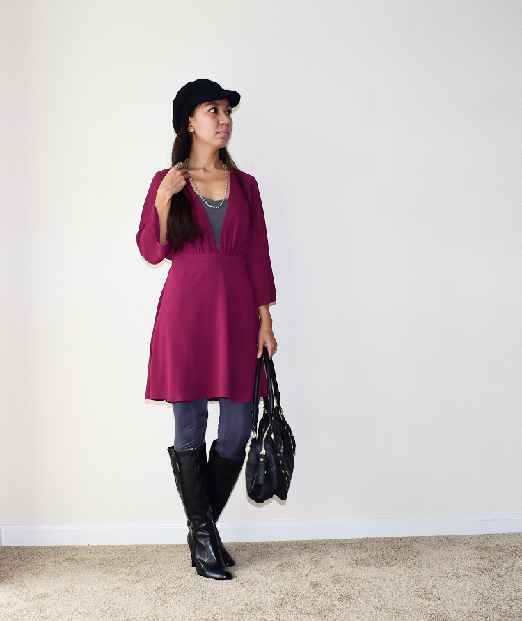 The Budget Fashion Seeker - TOBI Take it Slow Skater Skirt 2