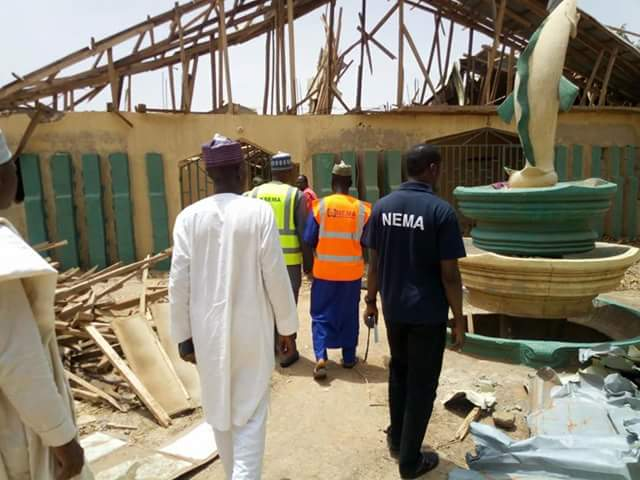 Photos: One killed, many injured and over 200 buildings destroyed as windstorm lash parts of Kebbi State