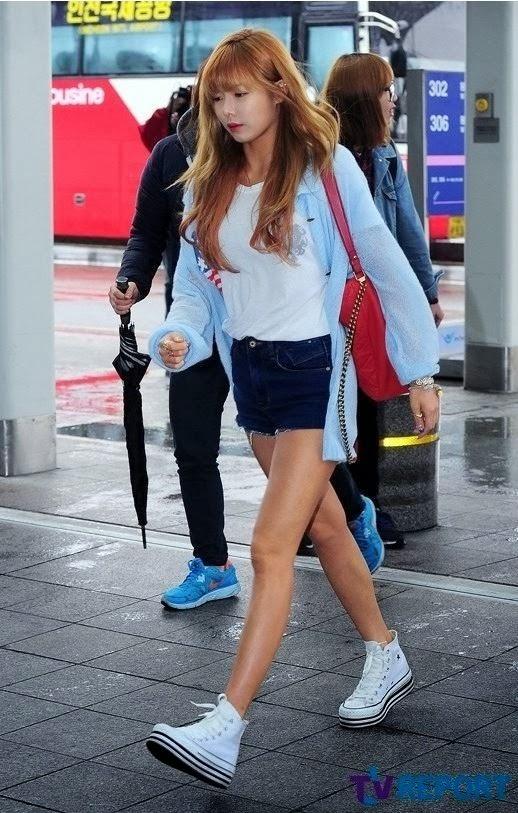 Hyuna Airport Fashion - Official Korean FashionHyuna 2013