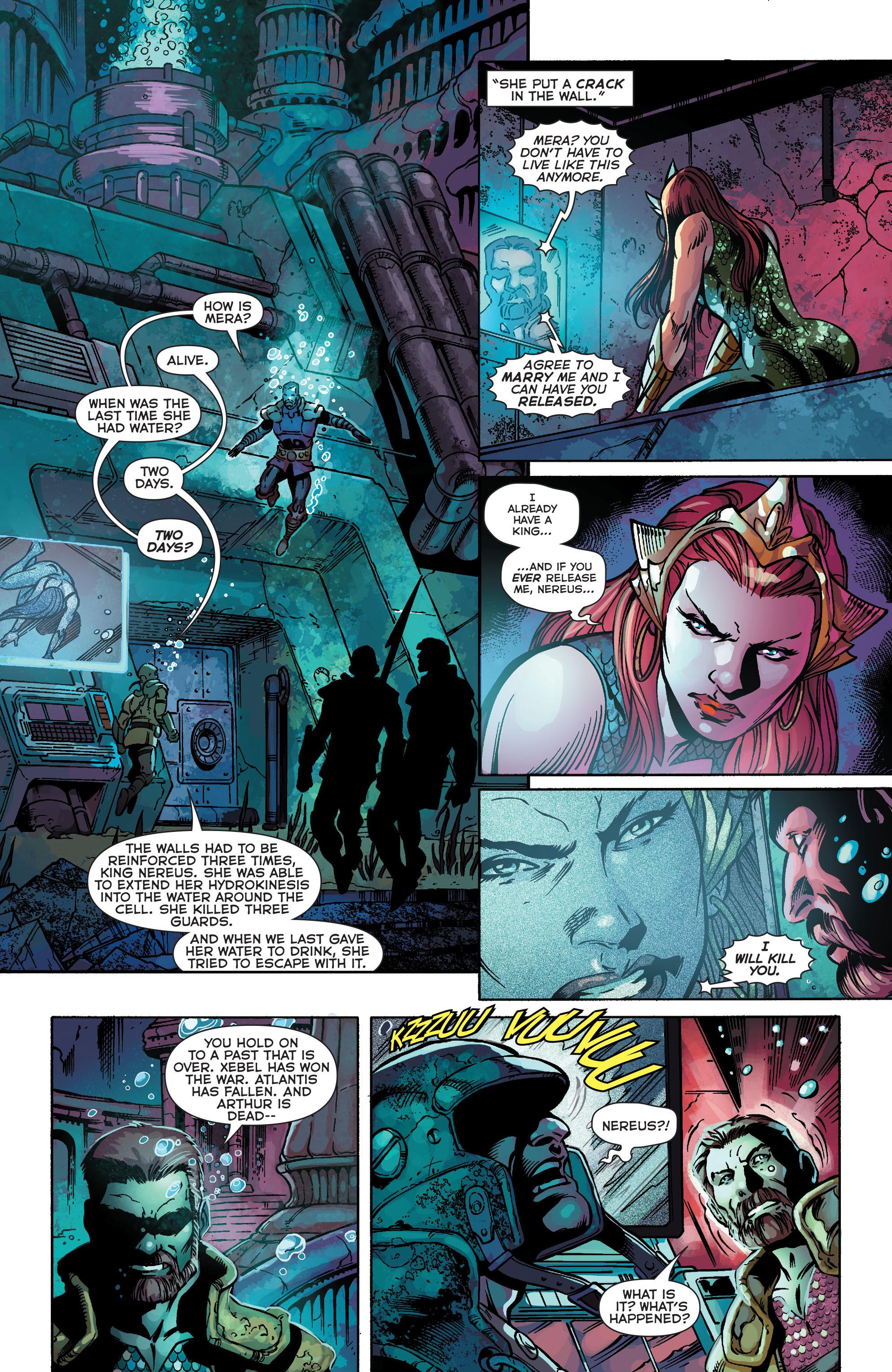 Read online Aquaman (2011) comic -  Issue #25 - 8