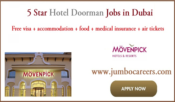 5 star hotel jobs for Indians, Current job vacancies in Dubai,