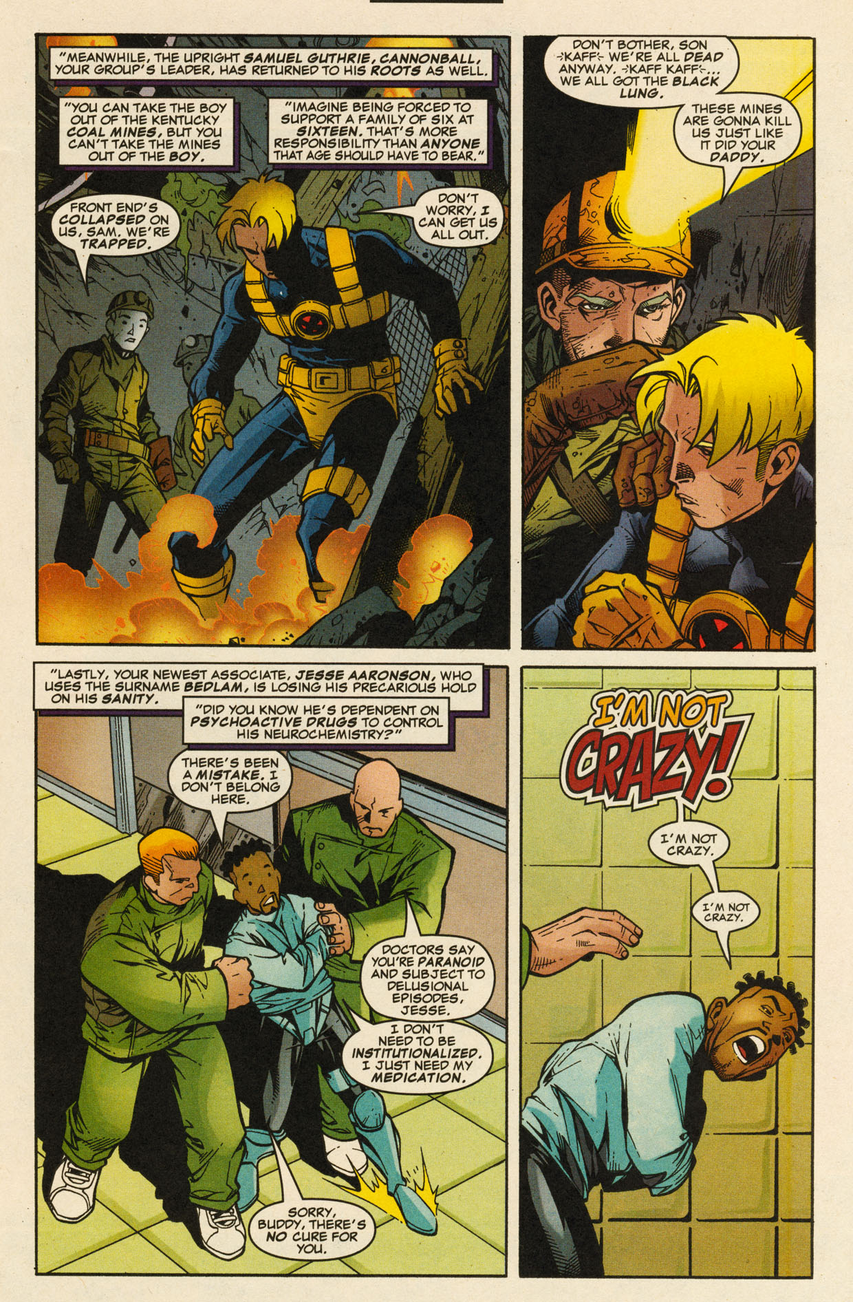 Read online X-Force (1991) comic -  Issue #98 - 9