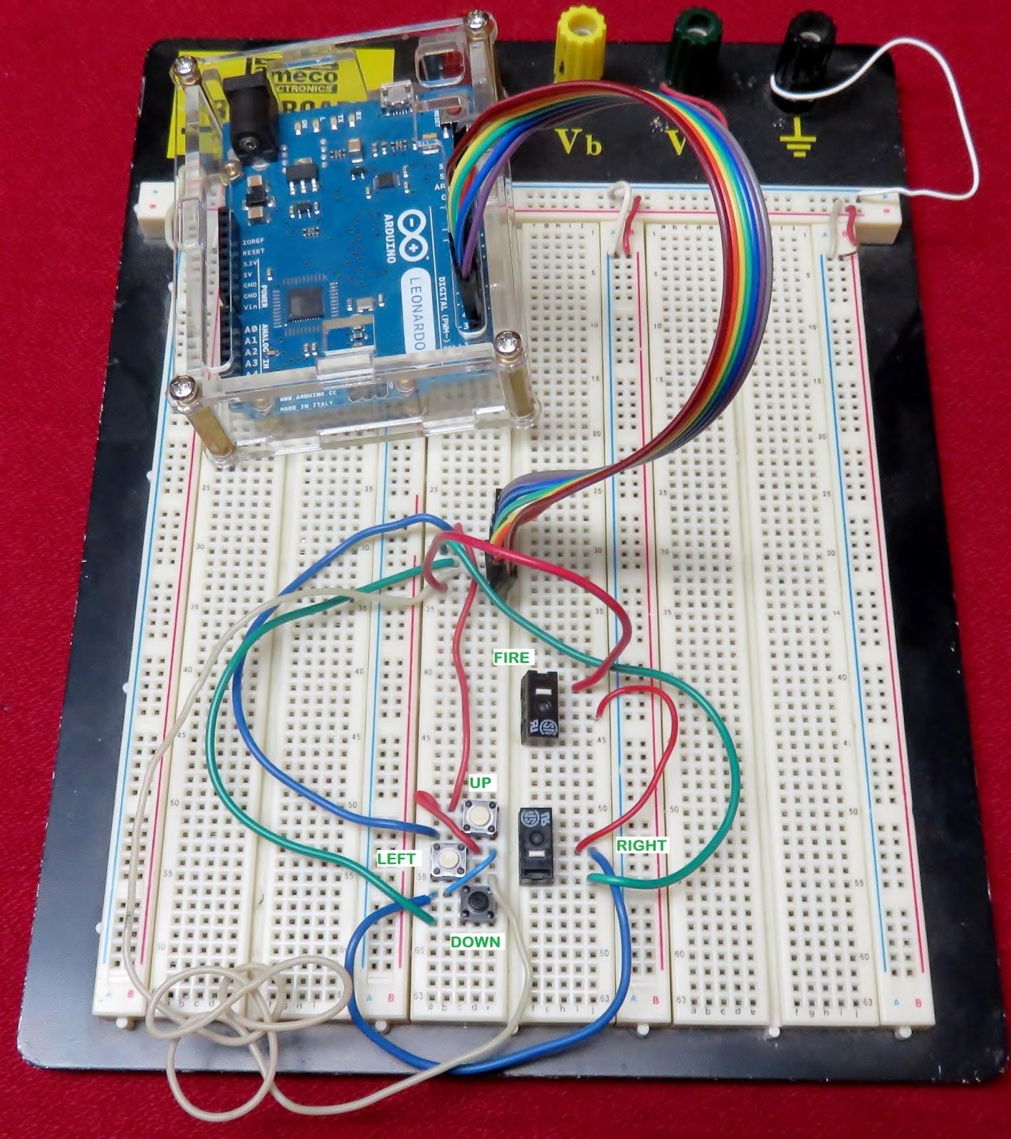 Programming ponderings arduino joystick library version