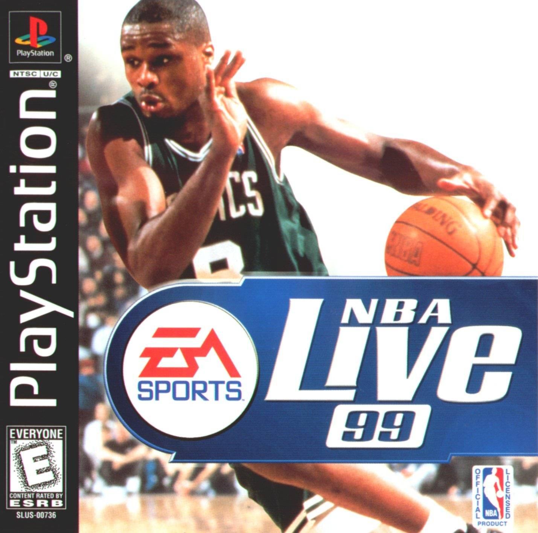 NBA Live 99 - PS1 - ISOs Download