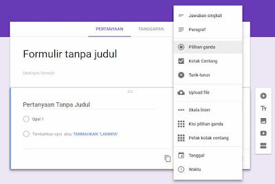 cara membuat survei online menggunakan google form