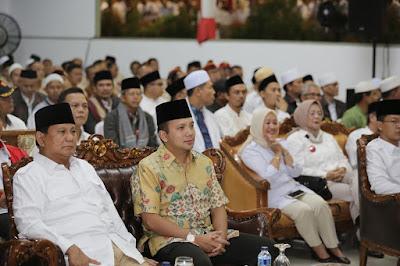 Prabowo: Kader Gerindra Harus Merasakan Kesulitan Rakyat