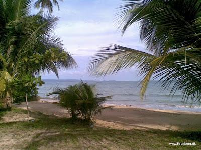 En strand på Koh Mak