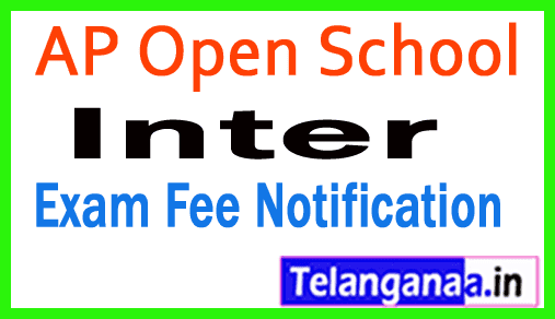 APOSS Inter Examination Fee Notification