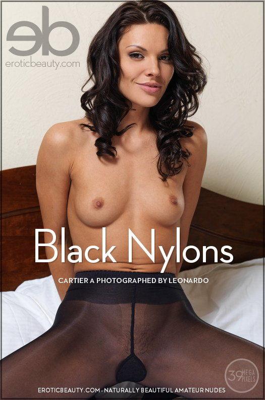 EroticBeauty5-02 Cartier A - Black Nylons 03180