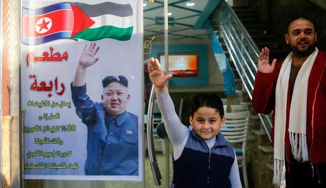 Bukti Keharmonisan Palestina Dan Korea Utara Yang Tidak Di Ketahui Oleh Banyak Orang