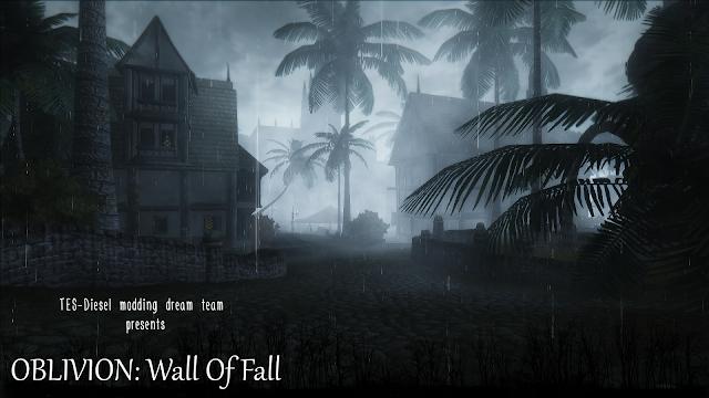 Wall of fall - осень в Сиродииле от TES-Diesel