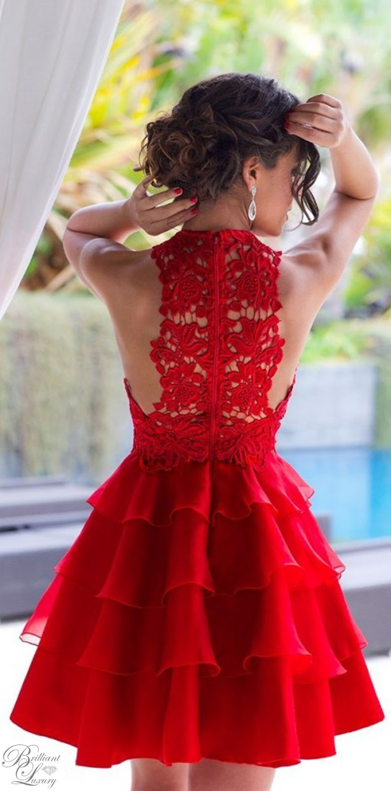 Brilliant Luxury ♦ Silvia Navarro Magnolia Dress