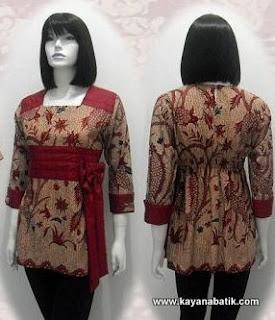 Model Baju Batik Guru Wanita Koleksi Gambar Model Baju Batik Guru