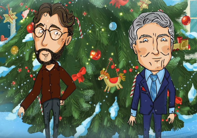 josh groban with tony bennett christmas time is here music video
