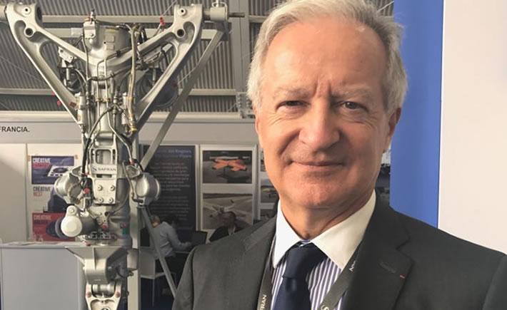 Daniel Parfait, presidente de Grupo Safran en México. (Foto: Vanguardia Industrial).