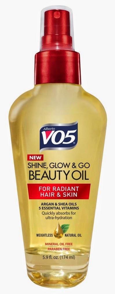 Shine Beauty Beacon M M S Candy Mani: Alberto VO5 Shine, Glow & Go Beauty Oil Review