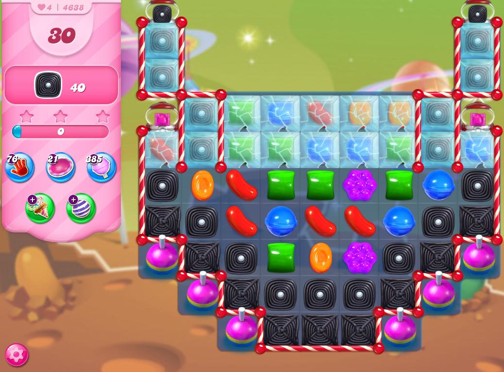 Candy Crush Saga level 4638