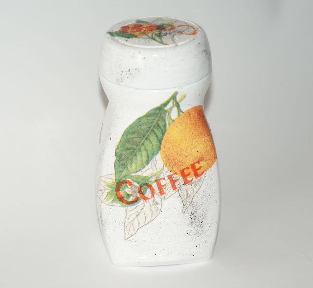 kawa ziarnista pomarańczowa      kawa smakowa  kawa o smaku pomarańczy