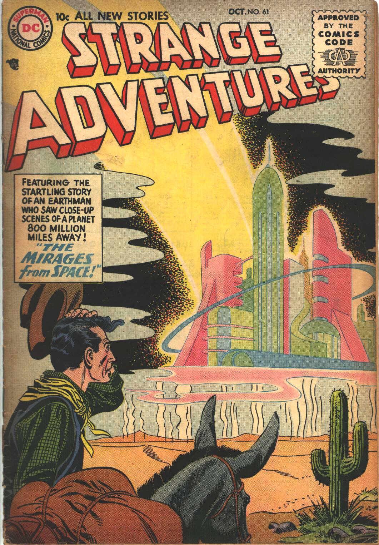 Strange Adventures (1950) issue 61 - Page 1