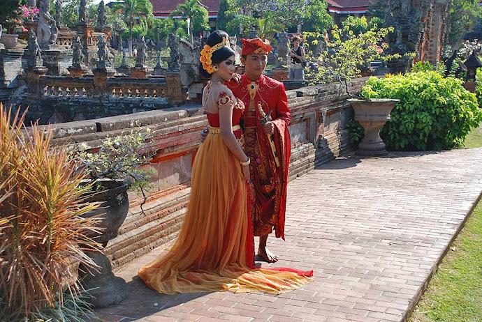 Vestidos tradicionales de Bali
