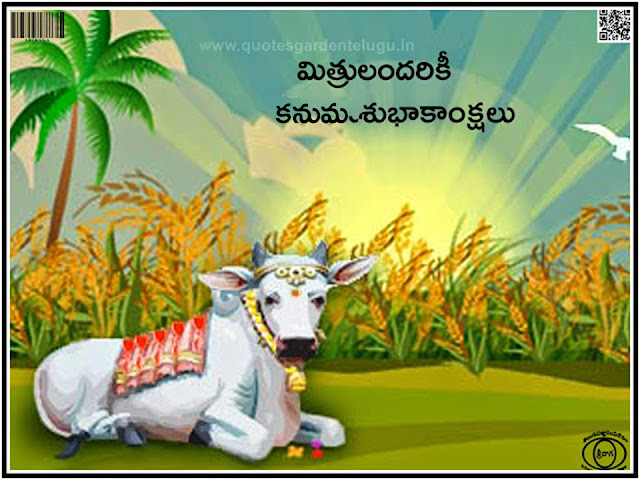 Happy Kanuma Greetings in Telugu, Happy Kanuma 2017 telugu greetings , Happy Kanuma telugu messages, Happy kanuma telugu wishes online.