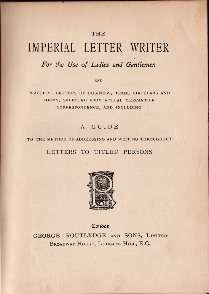 The Lothians The Art Of Letter Writing Early 19th Century Style