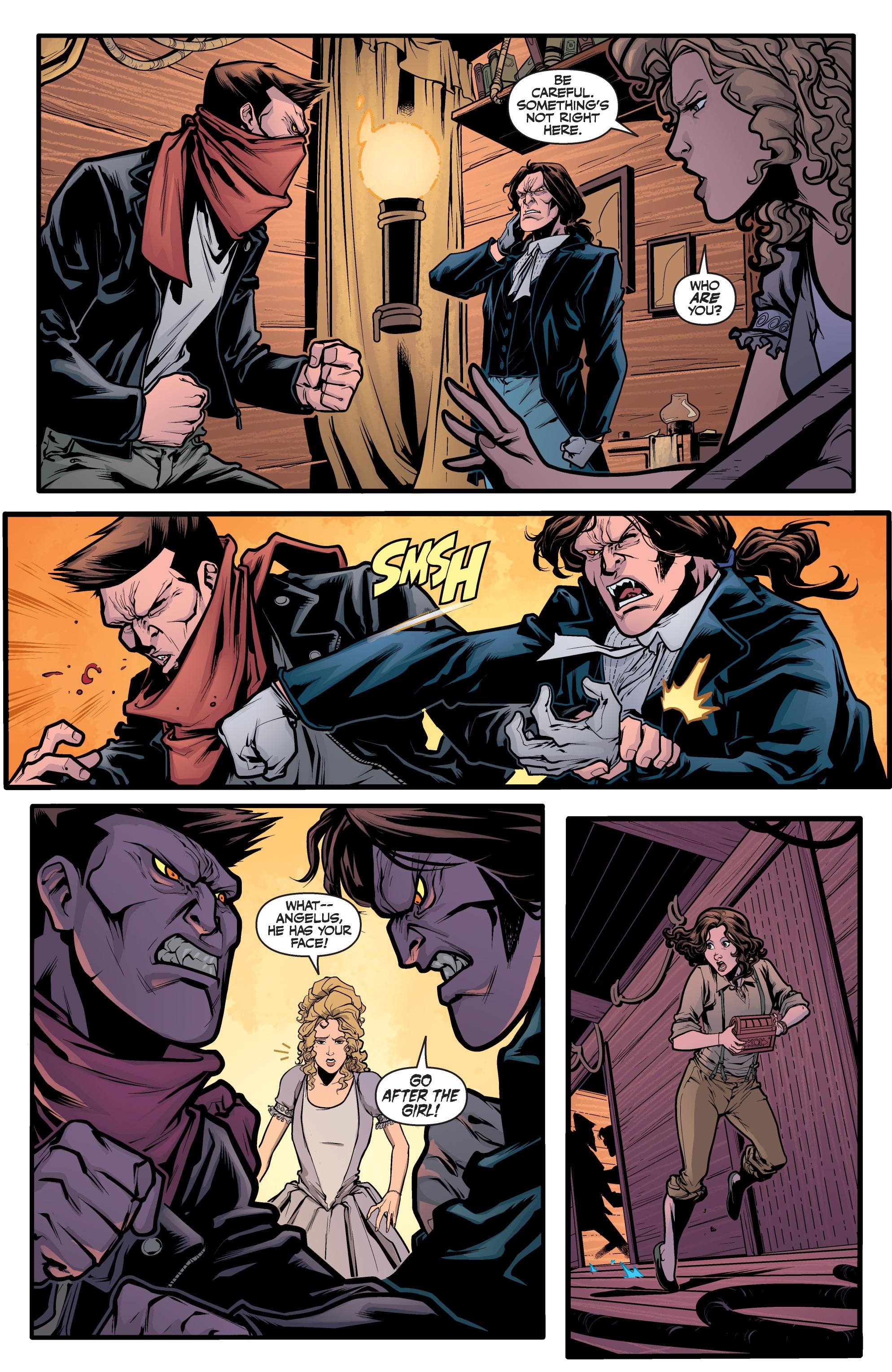 Read online Angel Season 11 comic -  Issue #6 - 6