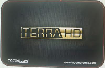 Novo receptor Tocomlink Terra HD, conheça.