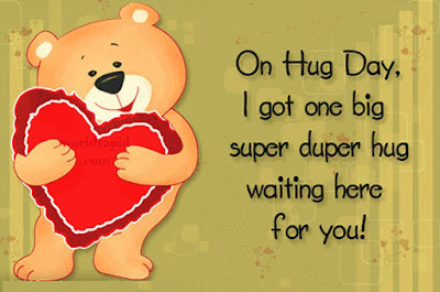 Happy Hug Day Message
