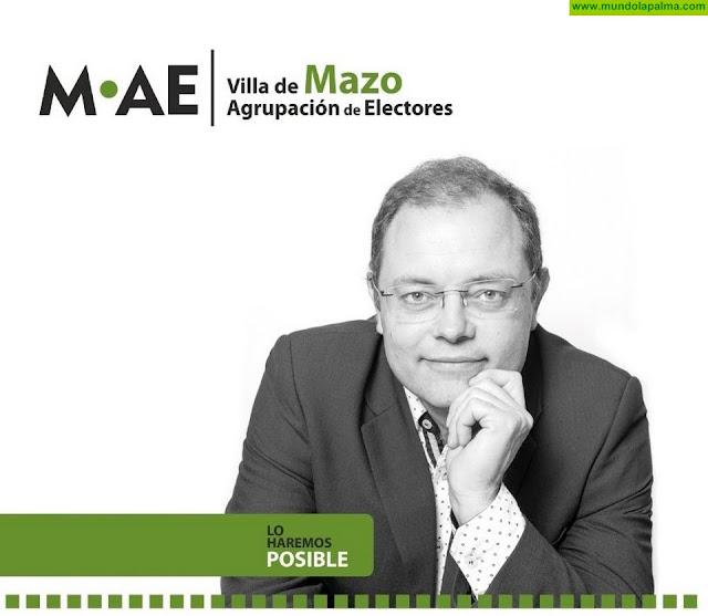 Julián Delgado Yanes lidera la candidatura de MAE por Villa de Mazo