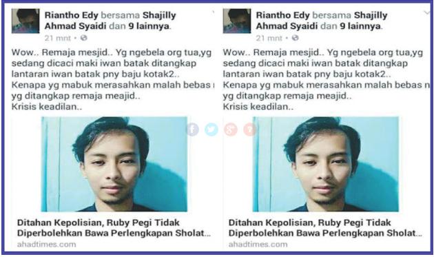 Pemuda Muhammadiyah Siap Jadi Penjamin Penangguhan Tahanan Ruby Peggy