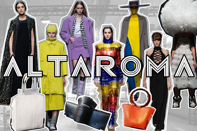 Rome opened its doors to the novel generation of immature fashion designers too emergend brands ALTAROMA LOOKS AT THE NEXT GENERATION OF ITALIAN HAUTE COUTURE (part 3)