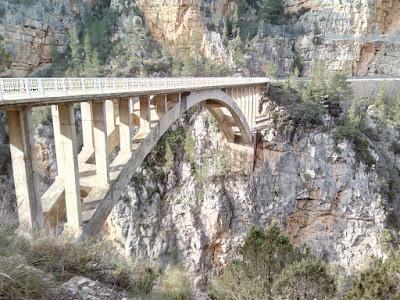 El Puente Nuevo, En Santa Cruz de Moya. Autor: Miguel Alejandro Castillo Moya